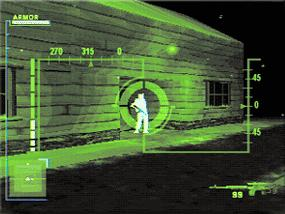 Night vision sniping