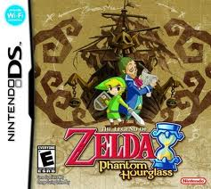 Box art - The Legend of Zelda: Phantom Hourglass