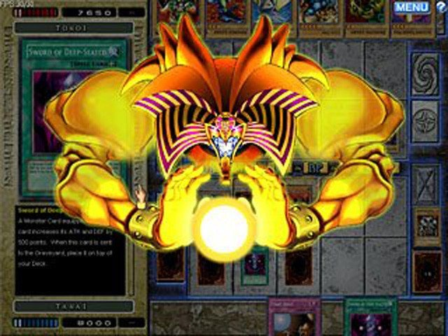 Yu-Gi-Oh! Games . Play one of the most popular trading card game in the world! Collect powerful monster cards and trap cards and win against your opponents in Yu-Gi-Oh!