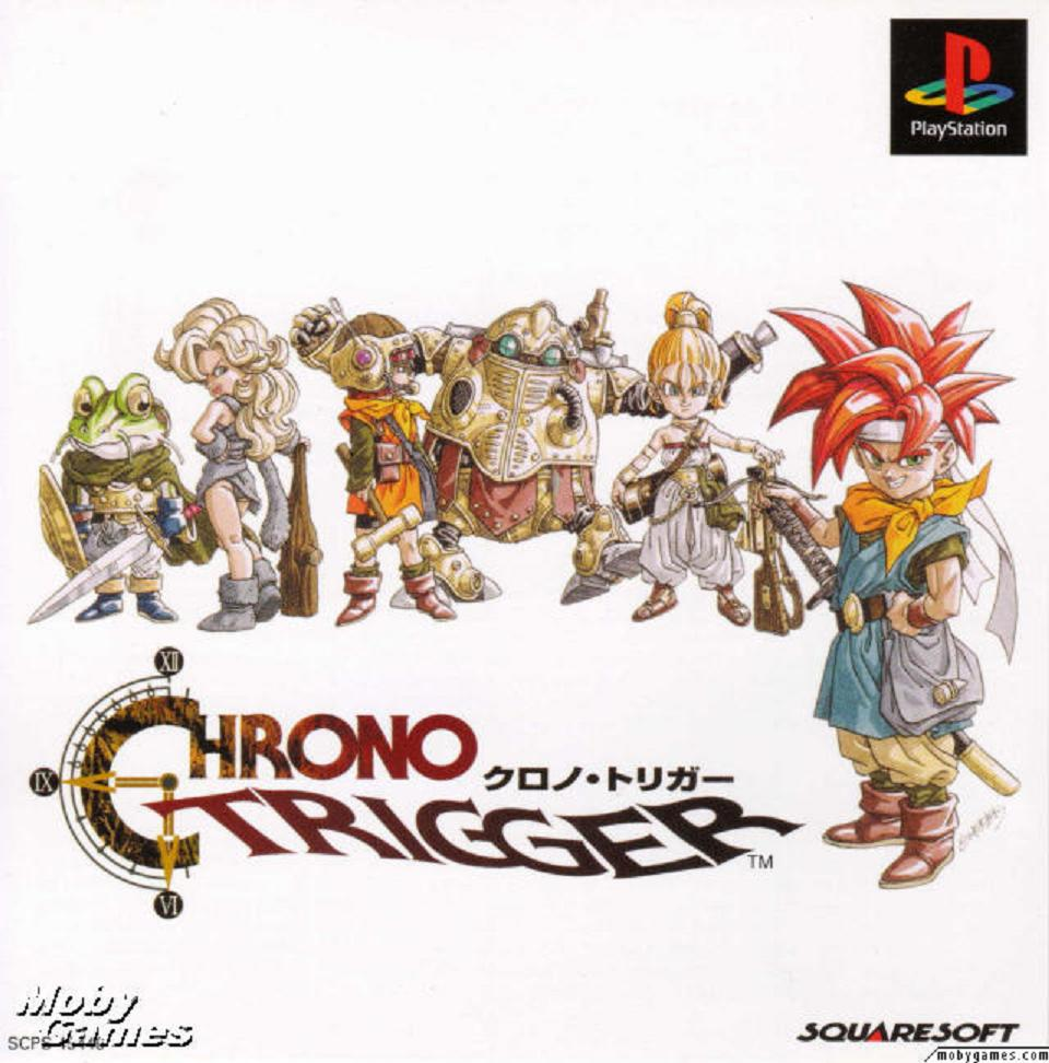 Box art - Chrono Trigger