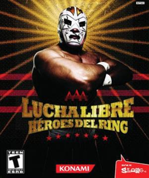Box art - AAA Lucha Libre: Héroes del Ring