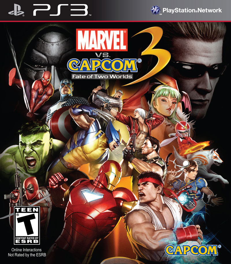 Box art - Marvel vs Capcom 3
