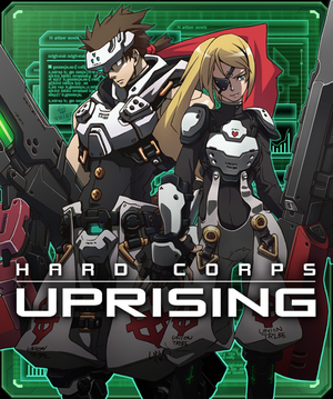 Box art - Hard Corps: Uprising