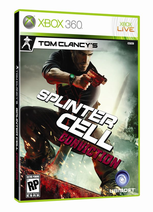 Box art - Splinter Cell Conviction,Tom Clancy's Splinter Cell: Conviction