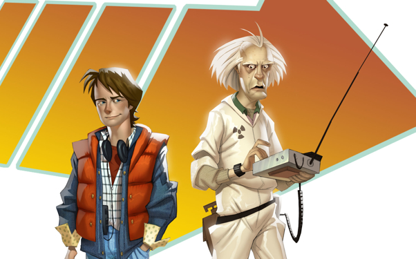 Box art - Back to the Future