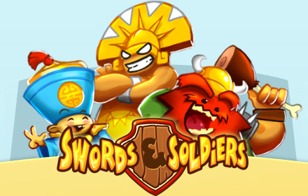 Box art - Swords and Soldiers