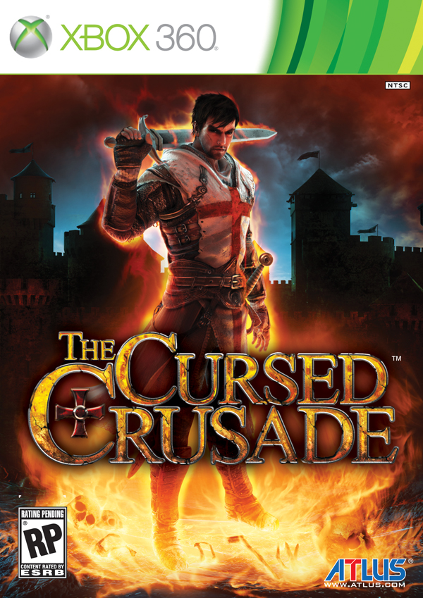 Box art - The Cursed Crusade