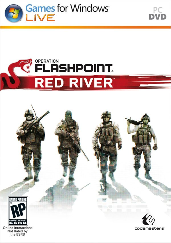 Box art - Operation Flashpoint: Red River