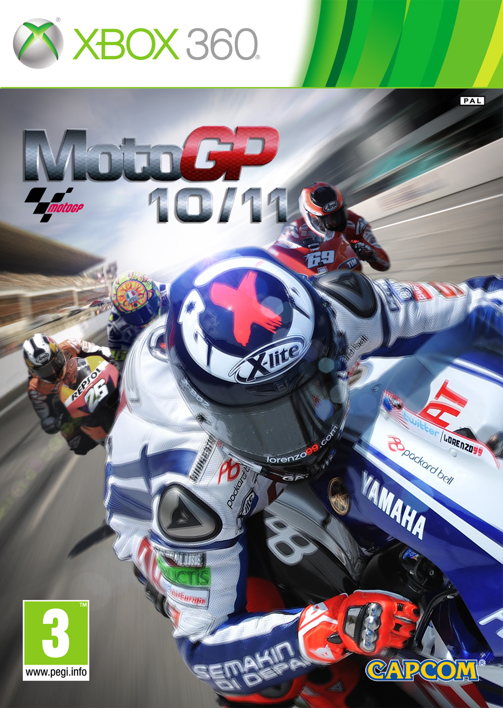 Box art - MotoGP 10/11