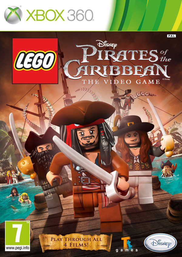 Box art - Lego Pirates of the Caribbean: The Video Game