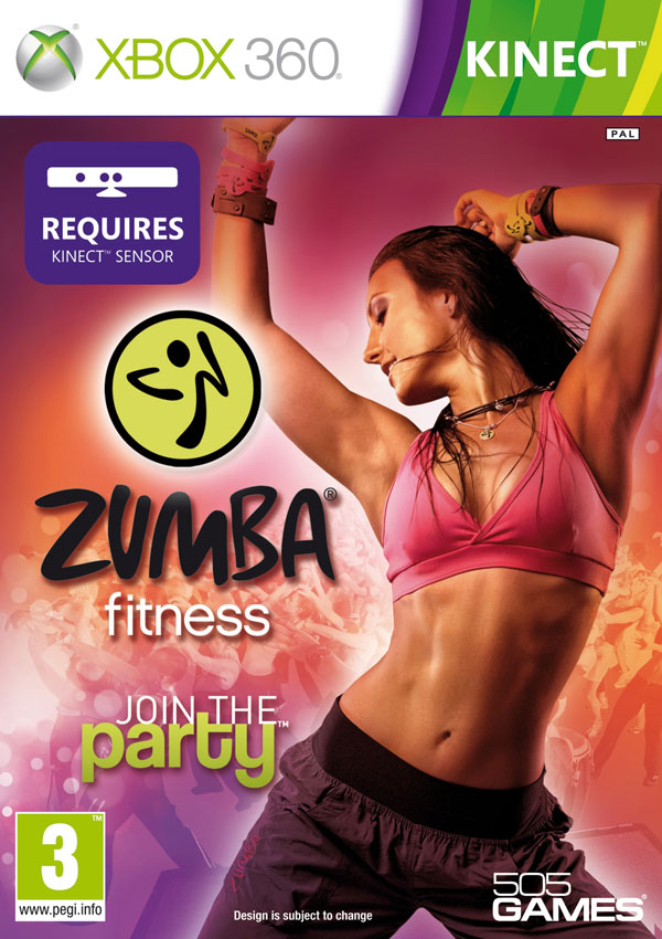 Box art - Zumba Fitness