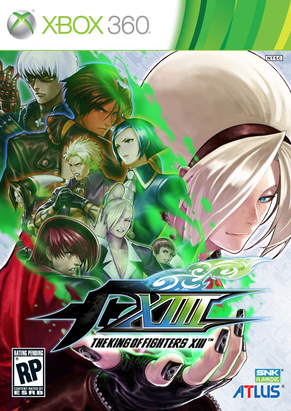 Box art - King of Fighters XIII