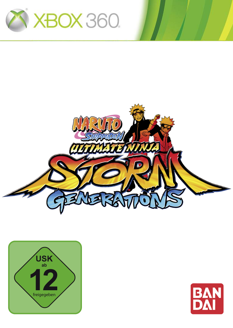Box art - Naruto Shippuden: Ultimate Ninja Storm Generations