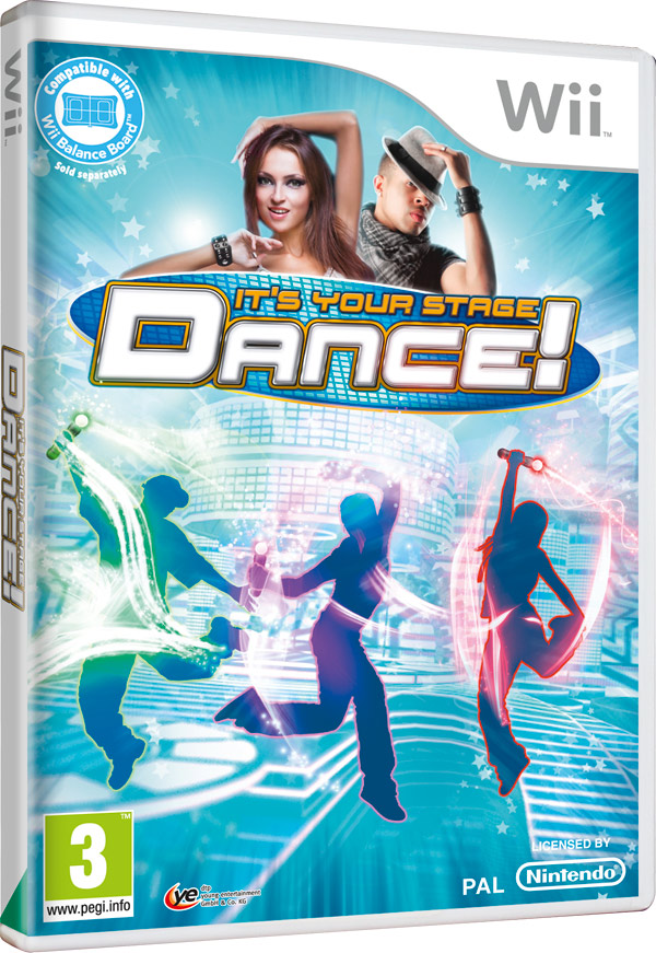 Box art - Dance! It's your Stage