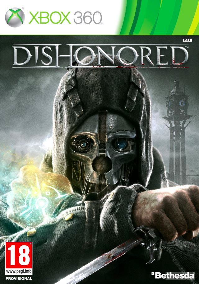 Box art - Dishonored