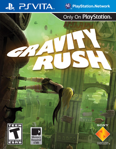 Box art - Gravity Rush