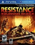 Box art - Resistance: Burning Skies