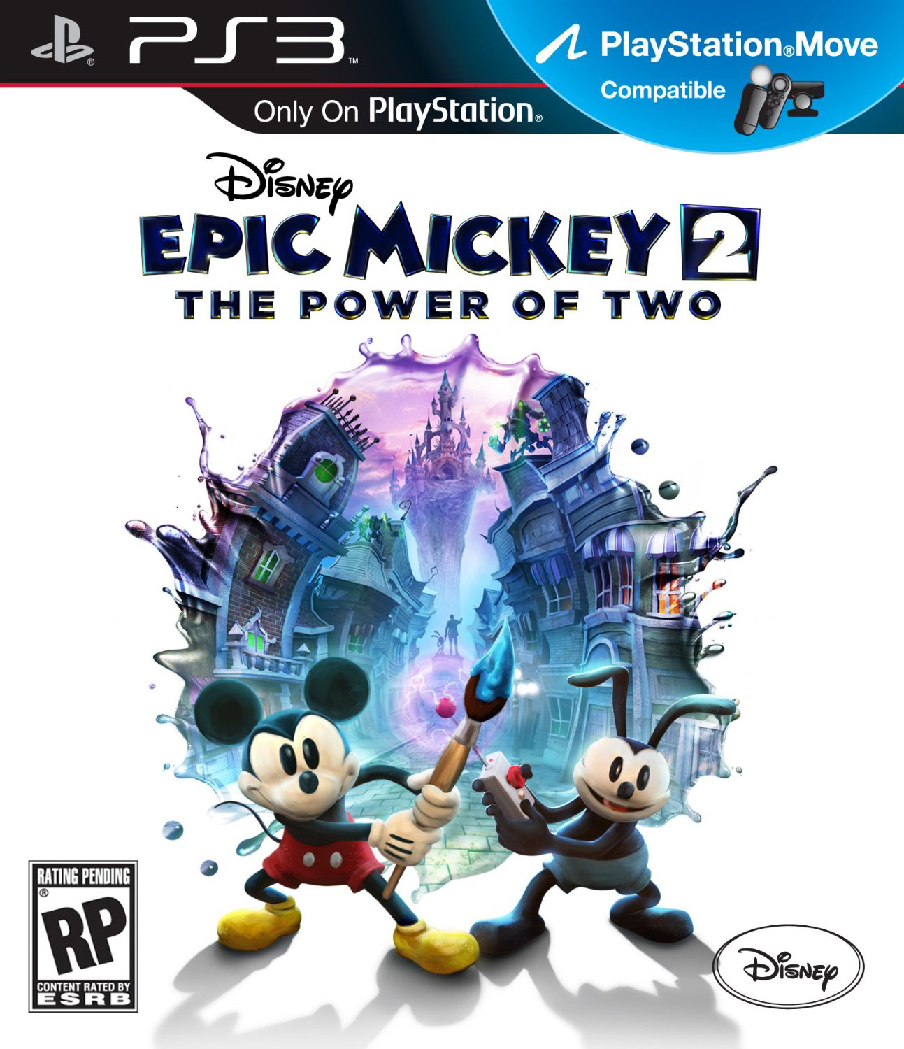 Box art - Disney Epic Mickey 2: The Power of Two