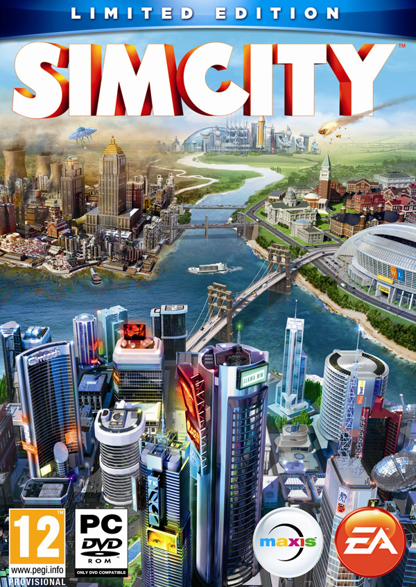 Box art - SimCity (2013)