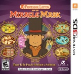 Box art - Professor Layton and the Miracle Mask