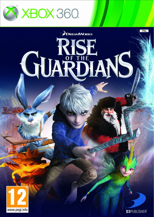 Box art - Rise of the Guardians