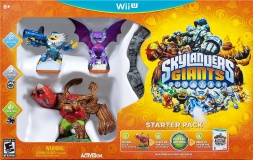Box art - Skylanders Giants (Wii U)