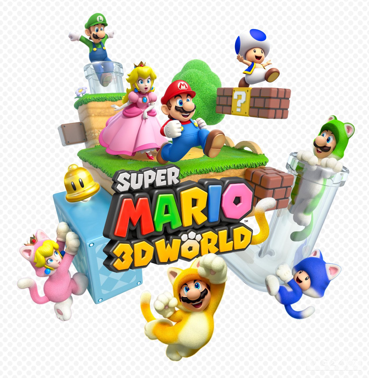 Box art - Super Mario 3D World