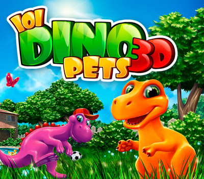 Box art - 101 DinoPets 3D
