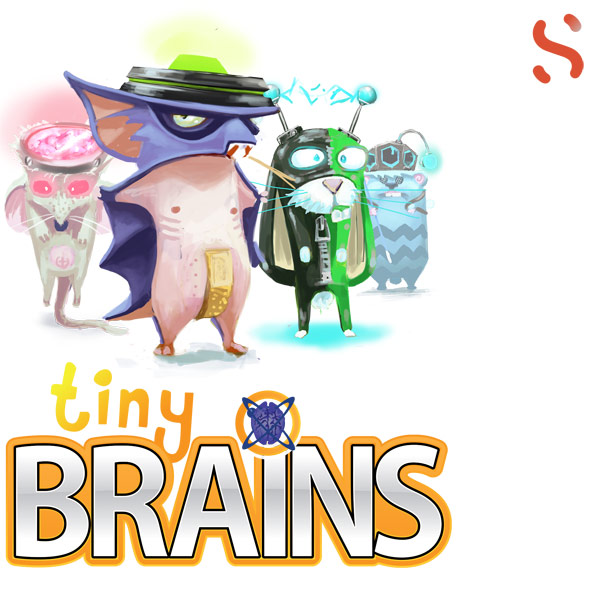 Box art - Tiny Brains