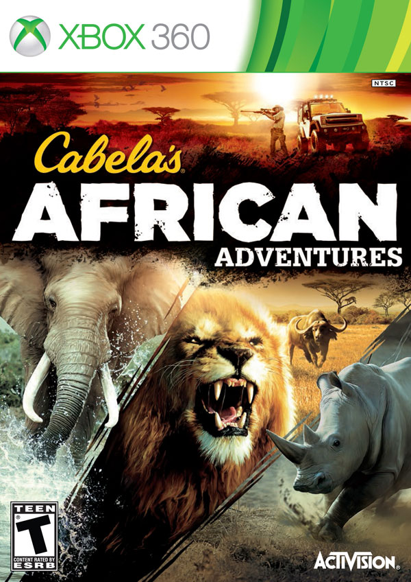 Box art - Cabela's African Adventures
