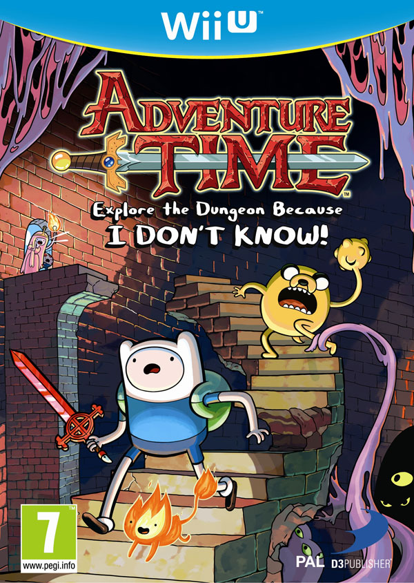 Box art - Adventure Time: Explore the Dungeon Because I DON'T KNOW!