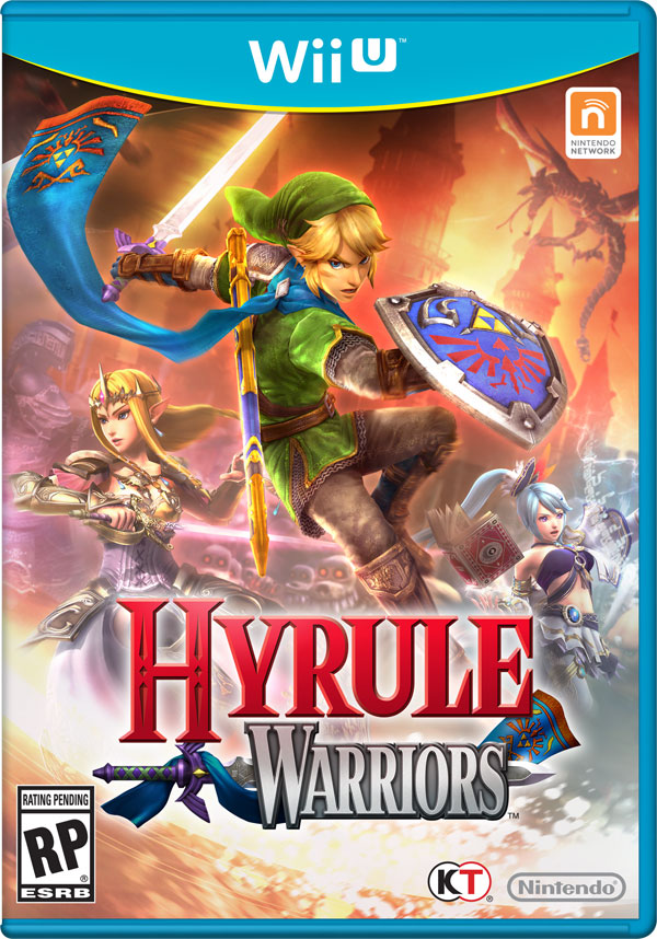 Box art - Hyrule Warriors