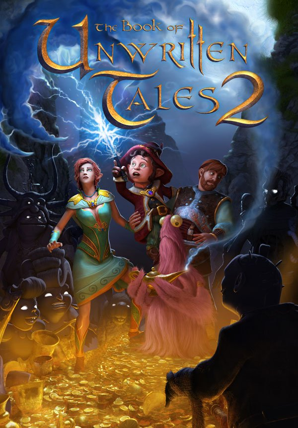 Box art - The Book of Unwritten Tales 2