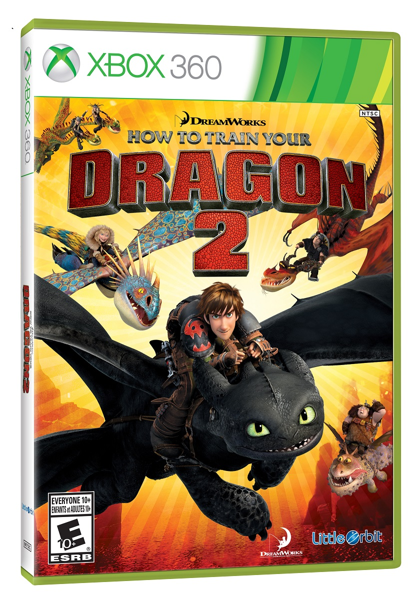 Box art - How to Train Your Dragon 2
