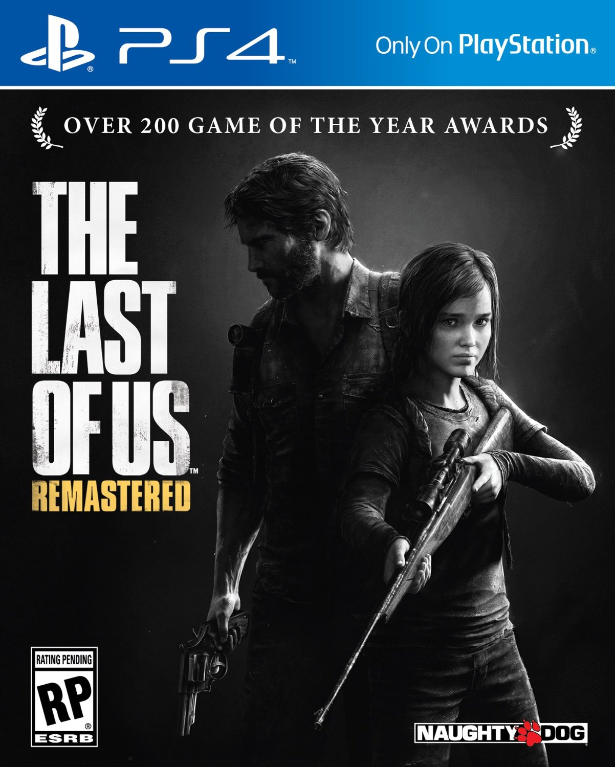 Box art - The Last of Us Remastered