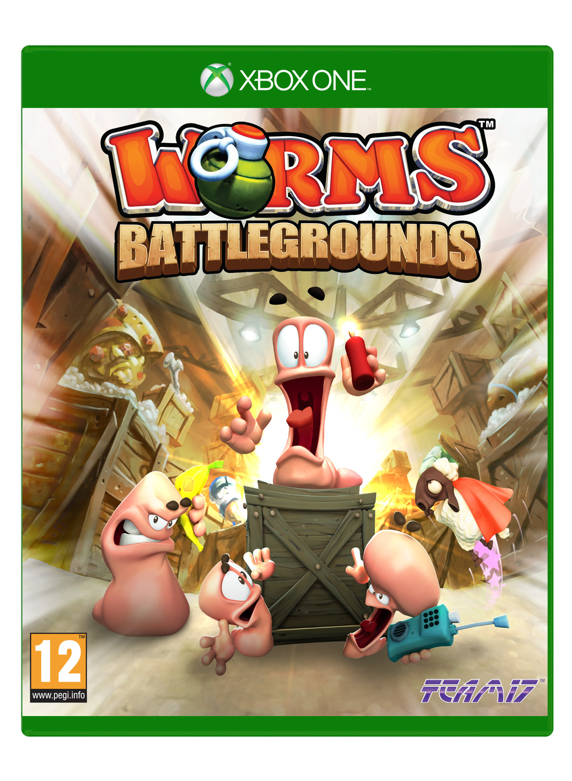Box art - Worms Battlegrounds