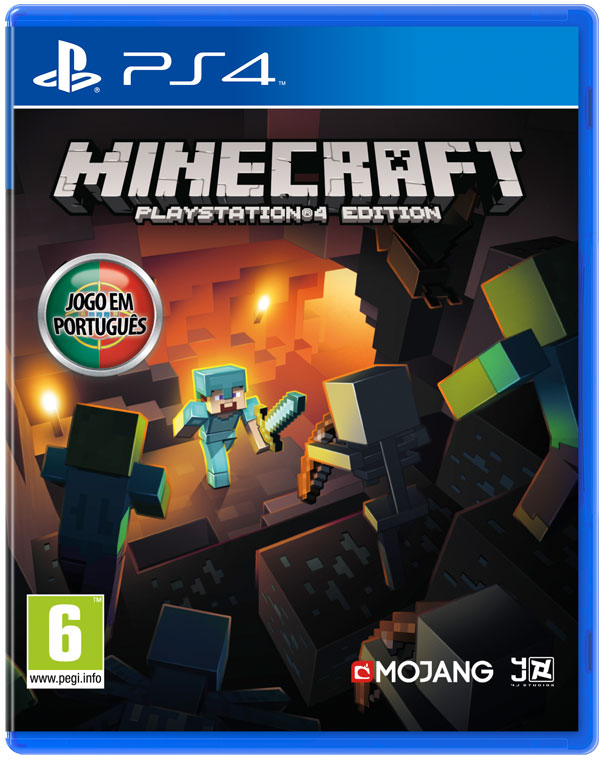Box art - Minecraft: PlayStation 4 Edition
