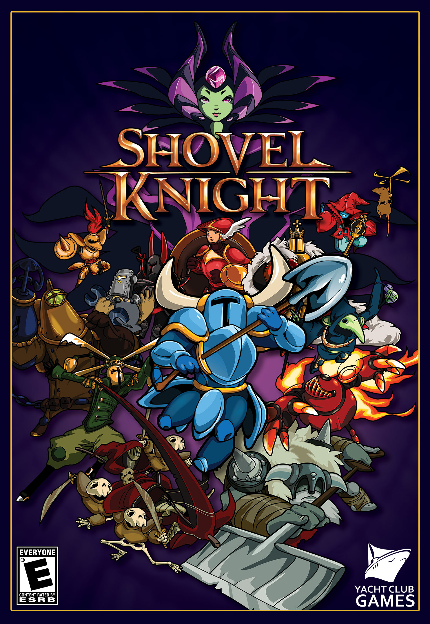 Box art - Shovel Knight