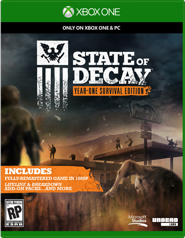 Box art - State of Decay: Year One Survival Edition