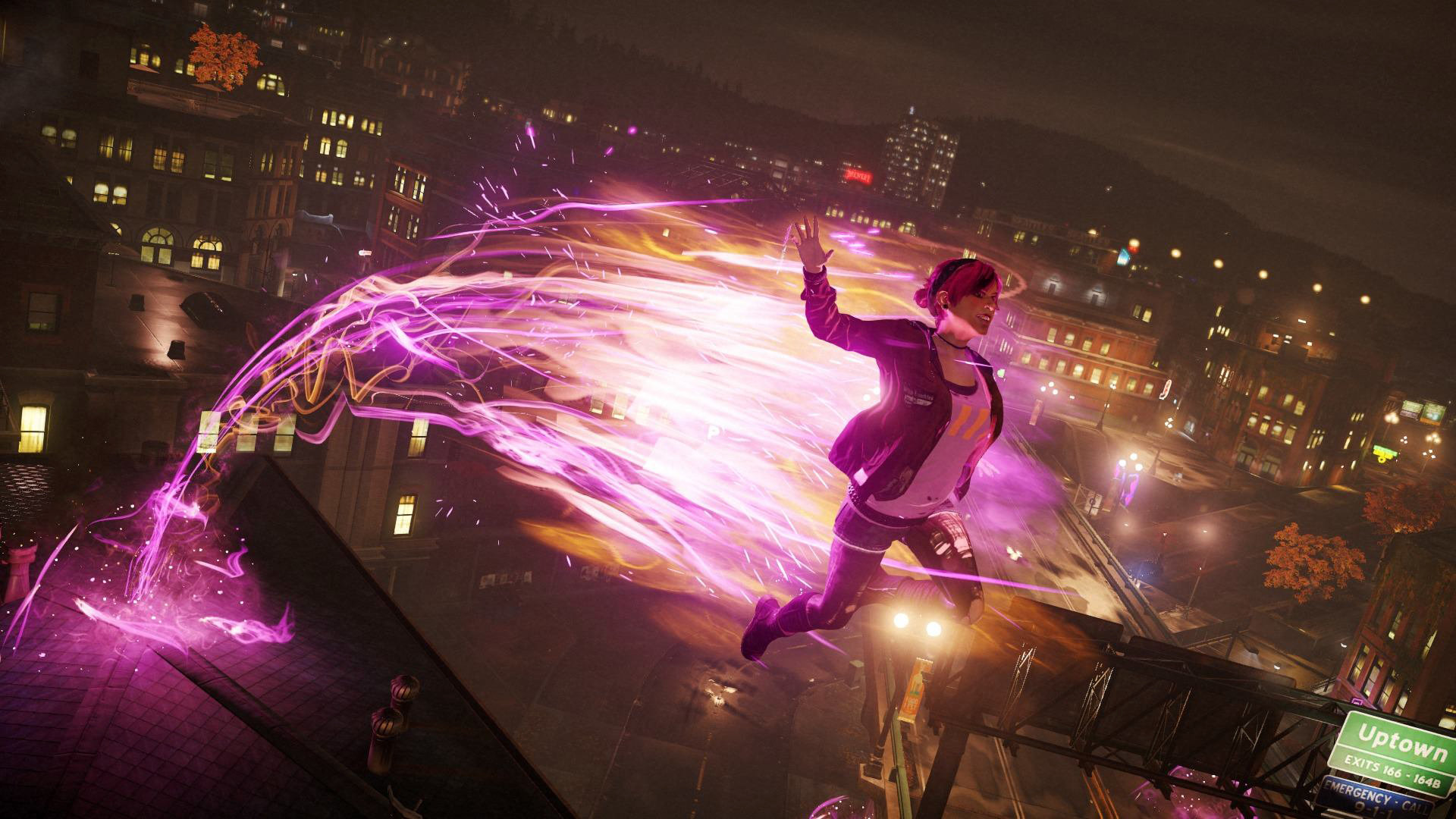 fetch son Infamous second