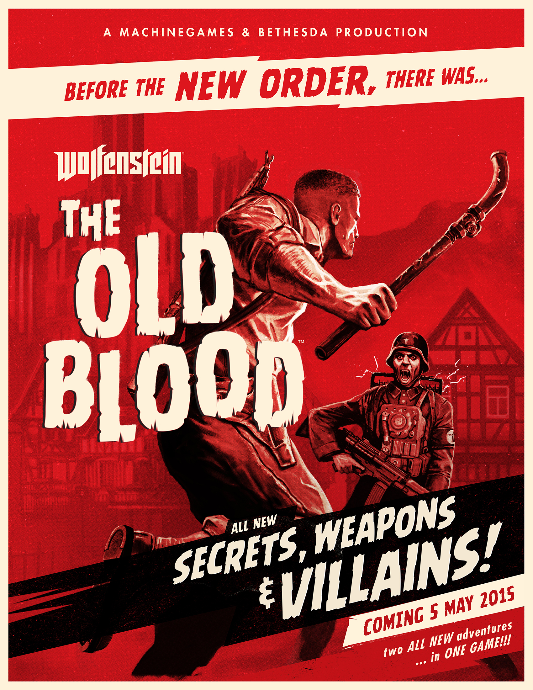 Box art - Wolfenstein: The Old Blood