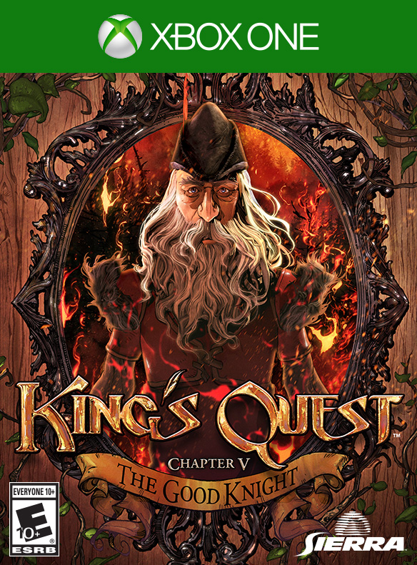 Box art - King's Quest