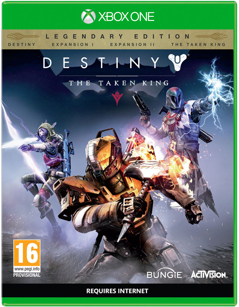 Box art - Destiny: The Taken King