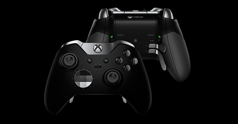Xbox one elite controller preview gamerevolution for Manette xbox one elite black friday
