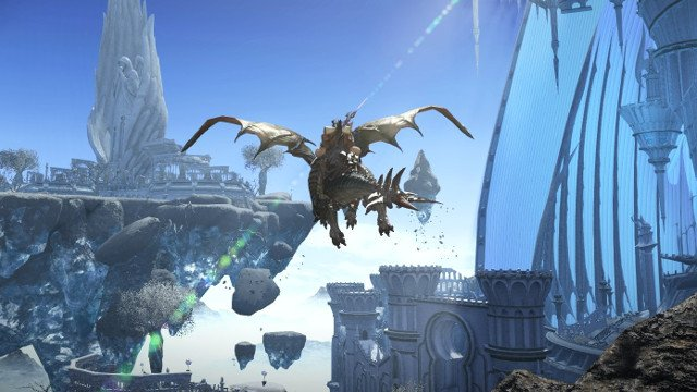 FINAL FANTASY XIV: Heavensward Aether Current Locations