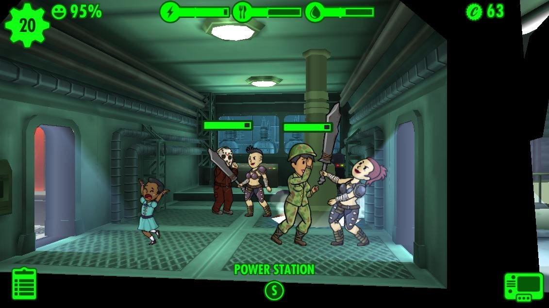 Fallout Shelter Switch PS4 E3 2018