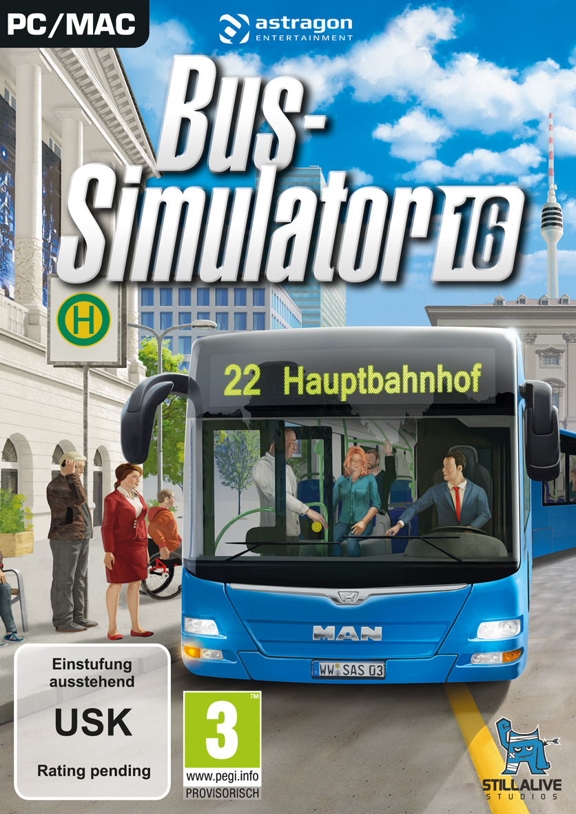 Box art - Bus Simulator 16