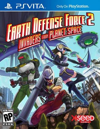 Box art - Earth Defense Force 2: Invaders from Planet Space