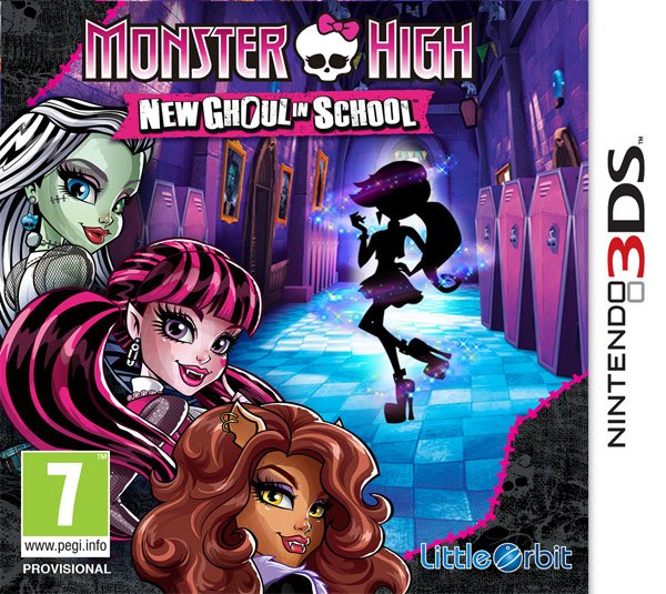 Box art - Monster High: New Ghoul in School