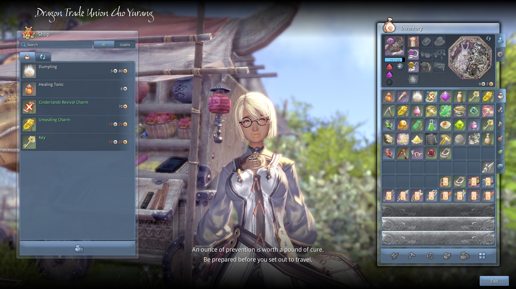 blade and soul silver coin